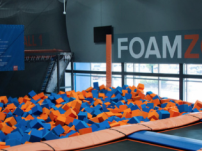 Family Night At Sky Zone Trampoline Park